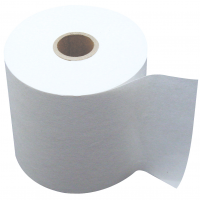 76mm x 76mm Two Ply Rolls White/Pink (Box of 20)