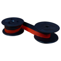 Twin Spool Group 24 Ink Ribbon - Black and Red - 1024 (2 Pack)-0